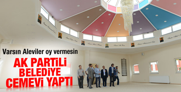 AK Partili belediye Cemevi açtı
