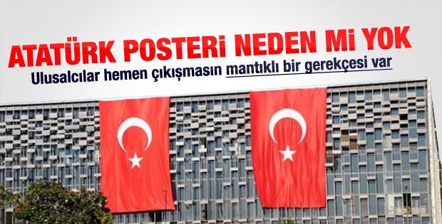 AKM'de Atatürk posteri neden indirildi