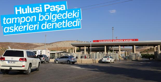 Genelkurmay Başkanı, Suriye sınırında
