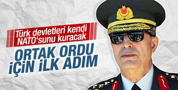 Hulusi Akar Türk ortak ordusu sorusunu yanıtladı