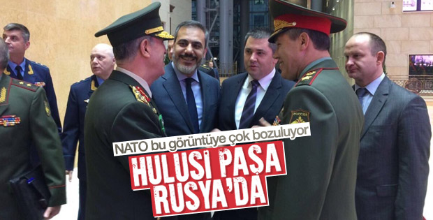Genelkurmay Başkanı Hulusi Akar Rusya'da