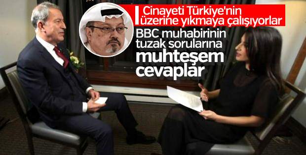 Milli Savunma Bakanı Hulusi Akar, BBC'ye konuştu