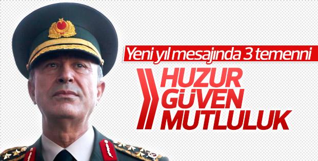 Hulusi Paşa'dan yeni yıl mesajı