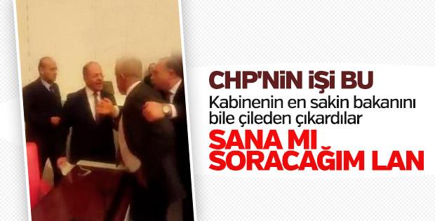 CHP'liler Recep Akdağ'ı çıldırttı
