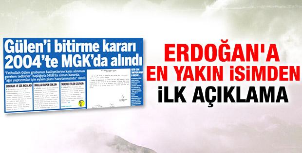 Akdoğan Gülen'i bitirme eylem planını yok hükmünde saydı