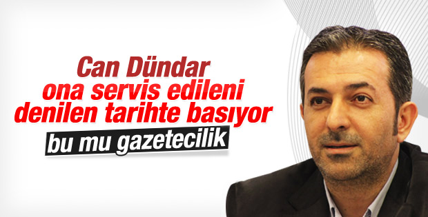 Akif Beki'den Can Dündar'a eleştiri