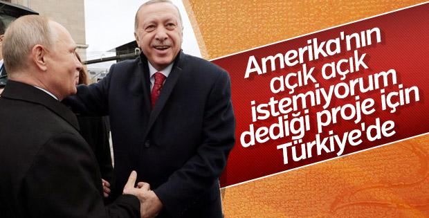 Türk Akımı'nda tarihi gün