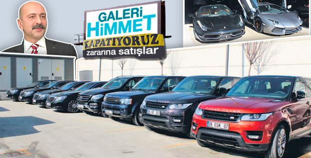 Akın İpek'in otomobil koleksiyonu ihaleye çıkıyor