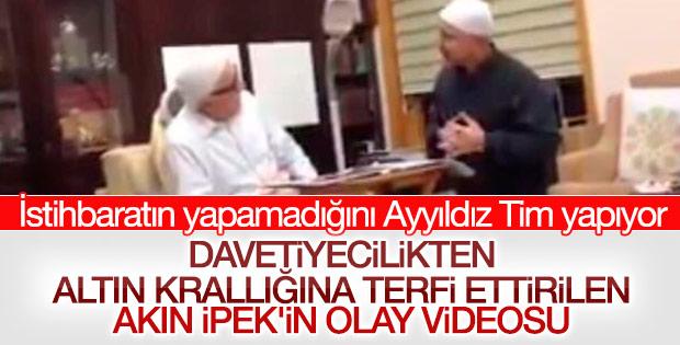 Akın İpek'in Fethullah Gülen'le videosu çıktı