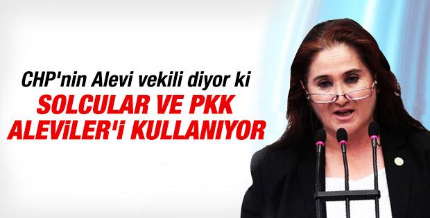 Akkiraz: Solcular ve PKK'lılar Alevileri kullanıyor