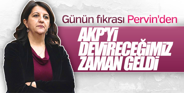 Pervin Buldan'dan güldüren erken seçim iddiası