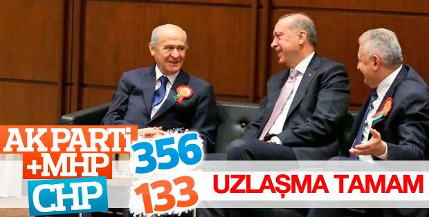 AK Parti ile MHP uzlaştı
