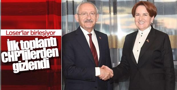 Kılıçdaroğlu, Meral Akşener ile görüştü