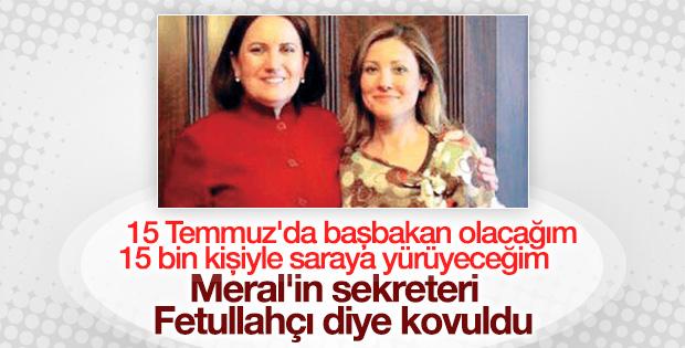 Meral Akşener'in sekreteri Meclis'ten ihraç edildi