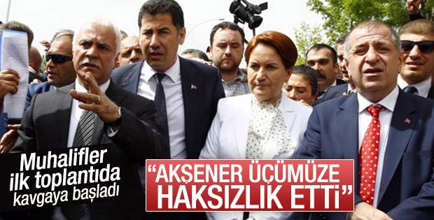 MHP'deki muhalif isimler arasında kriz çıktı
