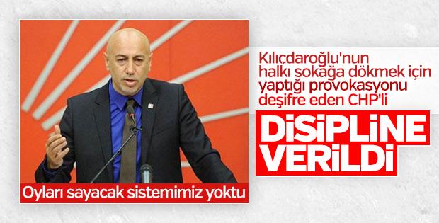 CHP'de disipline sevk edilecek 3 isim