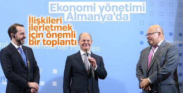 Berat Albayrak: Almanya ile yeni dönem başladı