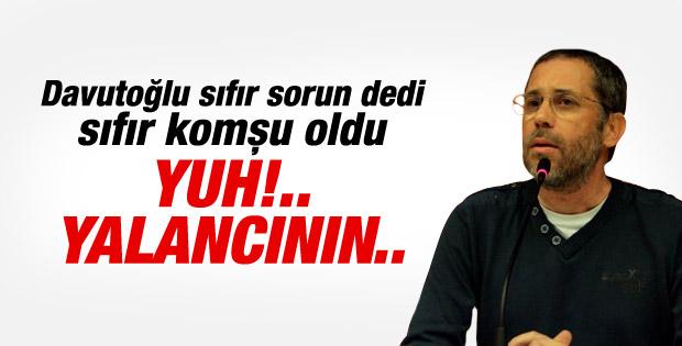 Hakan Albayrak'tan Davutoğlu'nu eleştirenlere cevap