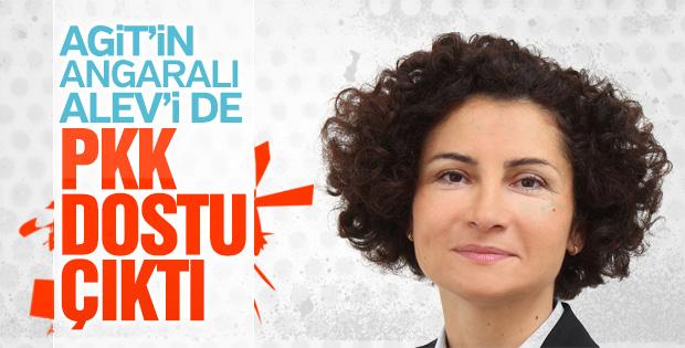 Referandum gözlemcisi Alev Korun'un HDPKK sevdası