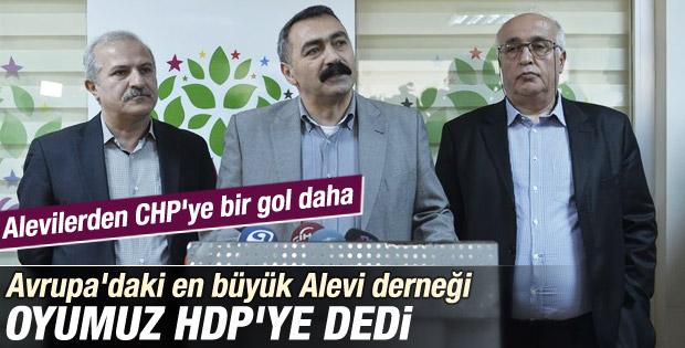 Avrupalı Alevilerden HDP'ye destek
