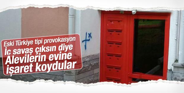 Ankara'da provokasyon: Alevilerin evleri işaretlendi