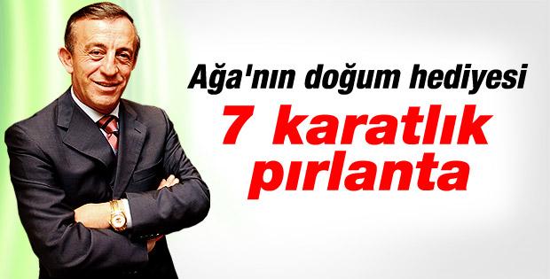 Ali Ağaoğlu'ndan sevgilisine 7 karatlık pırlanta