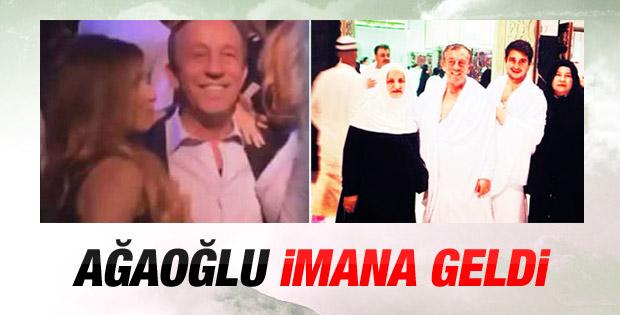 Ali Ağaoğlu Umre'ye gitti