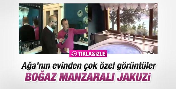 Ali Ağaoğlu yeni evini basına açtı - İzle