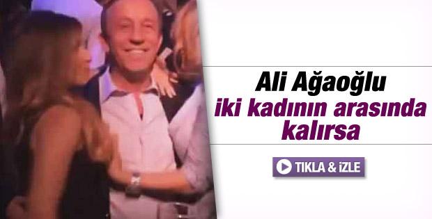Ali Ağaoğlu'nun iki kadınla eğlencesi - izle