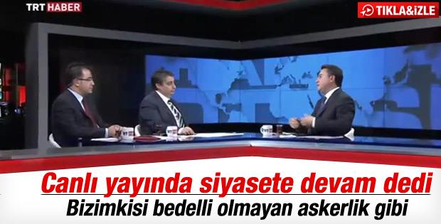 Babacan'dan siyasete devam mesajı İZLE