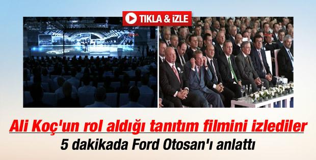 Başbakan Ford Otosan'ın tanıtım filmini izledi İZLE