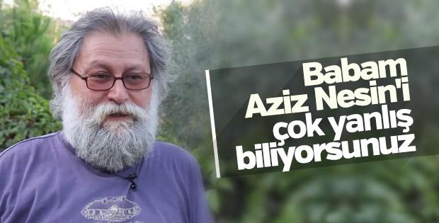 Ali Nesin: Babamı yanlış biliyorlar