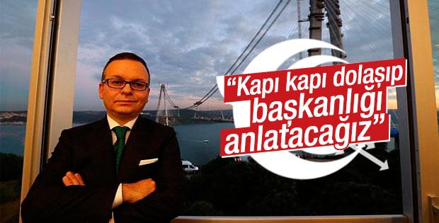 AK Partili Ali Sarıkaya'dan başkanlık sistemi açıklaması