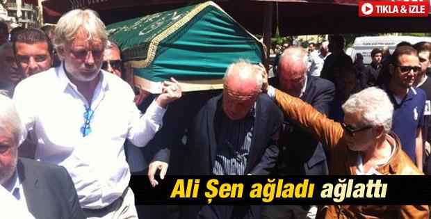Ali Şen torununu gözyaşlarıyla uğurladı İZLE
