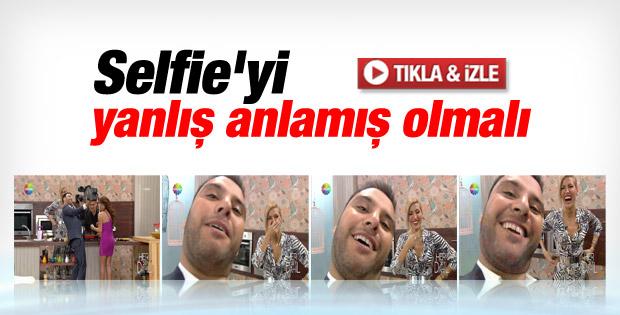 Alişan'dan omuz kamerası ile selfie İZLE