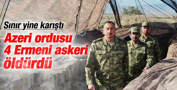 Ermenistan-Azerbaycan cephe hatttında gerginlik
