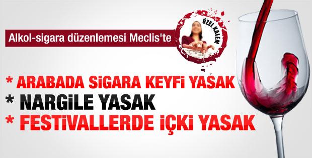 AK Parti'nin içki tasarısı teklifinin ayrıntıları