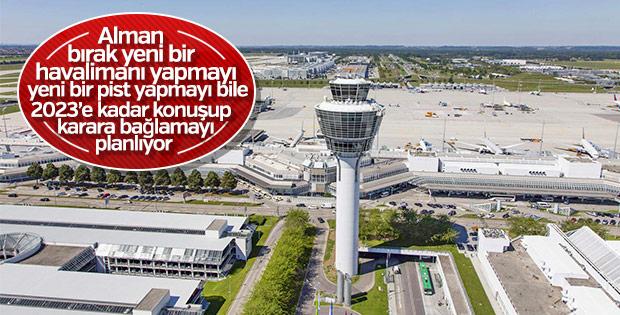 Münih Havalimanı'nın genişletilmesi ertelendi