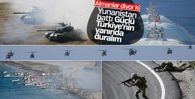 Yunanistan-Türkiye gerilimi Alman basınında