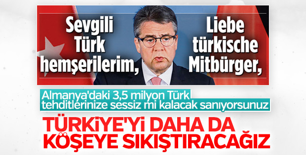 Alman hükümeti Türklere yönelik bildiri yayınladı
