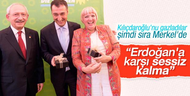 Yeşiller Partisi'nden Merkel'e Erdoğan çağrısı
