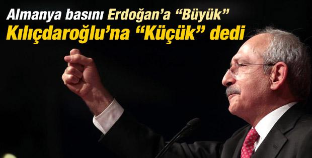 Alman basınından Kılıçdaroğlu'na çırak benzetmesi