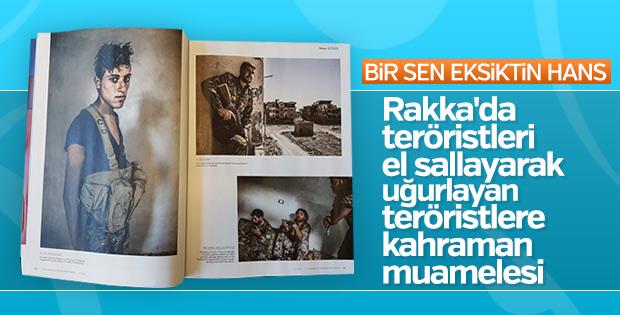Alman ordusunun dergisinde terör propagandası