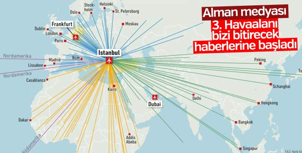 3. Havaalanı Alman medyasında