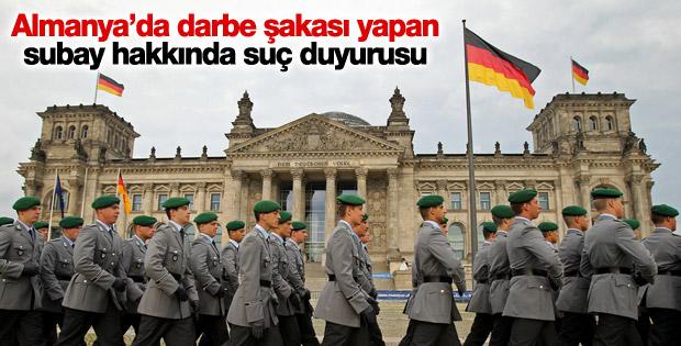 Almanya'da subayın darbe şakasına suç duyurusu
