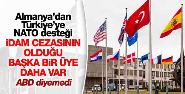 Almanya'dan Türkiye, idam ve NATO açıklaması