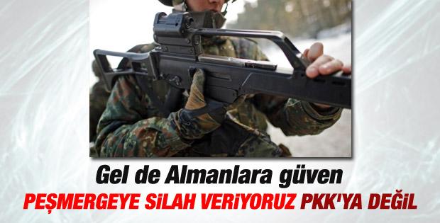 Almanya'dan PKK'ya silah yardımı açıklaması