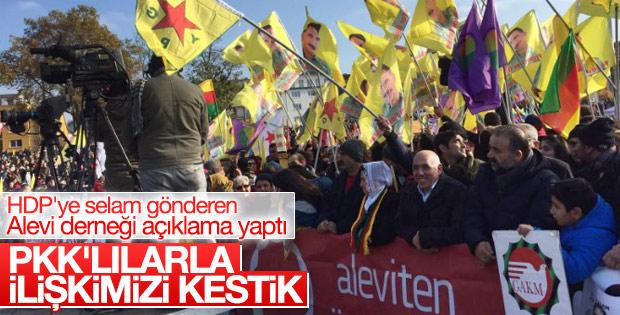 Alevi Derneği: PKK dernekleriyle ilişkimizi dondurduk
