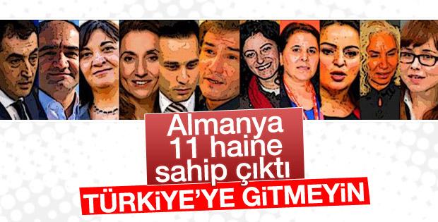 Almanya Türk vekillerini uyardı: Türkiye'ye gitmeyin