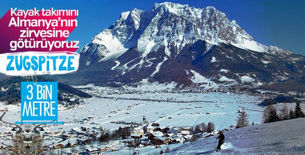 Snowboardlar Almanya'nın zirvesinde kayacak: Zugspitze